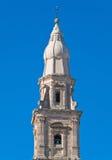 monopoli собора belltower apulia Стоковые Фотографии RF