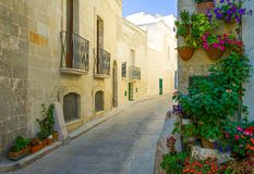 The architectures and colors of Monopoli. Monopoli, Italy, the traditional architectures of the old town Royalty Free Stock Photos