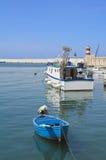 Monopoli Old Port. Apulia. Stock Image
