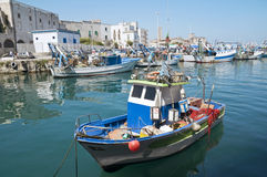 Free Monopoli Old Port. Apulia. Stock Photo - 14189340