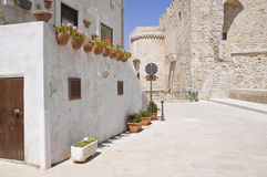 Monopoli Oldtown. Apulia. Royalty Free Stock Photos