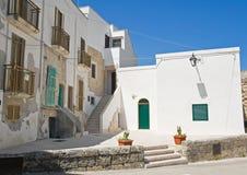 Monopoli Oldtown. Apulia. stock photography