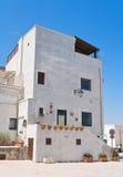 Monopoli Oldtown. Apulia. Royalty Free Stock Photos