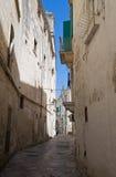 Monopoli Oldtown. Apulia. Immagini Stock Libere da Diritti