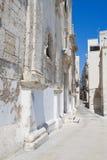 Monopoli Oldtown. Apulia. Immagine Stock