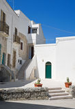 Monopoli Oldtown. Apulia. Royalty Free Stock Images