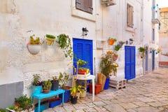 _ Monopoli Puglia italy royaltyfria bilder