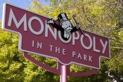 Monopolio nella sosta Fotografia Stock Libera da Diritti