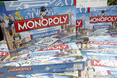 Monopolupplaga Cracow Krakow för första körning royaltyfria bilder