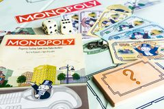Monopoly Board Game - Come with Game Instruction