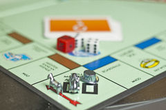 Monopoly. Have taught us the Art Of Real Estate Investing Stock Images
