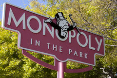 Monopoly in the Park Royalty Free Stock Photo