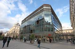 Monoprix shop on Place des Cordeliers, Lyon Stock Image