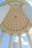 Monopteros świątynia w Angielskim ogródzie, Monachium Bavaria, Niemcy Fotografia Stock