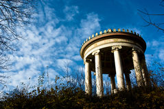 The Monopteros in Englischer Garten royalty free stock image