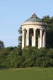 Monoptoros. View of pavilion  in englischer garten,munich- germany Royalty Free Stock Photos