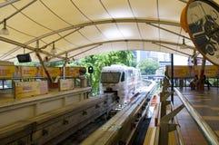 Monorail à Kuala Lumpur, Malaisie. Photographie stock libre de droits