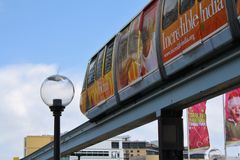 monorail στοκ εικόνα
