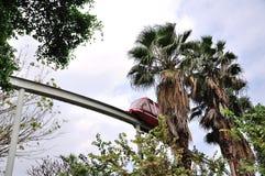 Monorail car Royalty Free Stock Photos