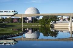 Monorail de centre d'Epcot Images libres de droits