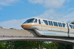 Monorail de Disney Photos stock