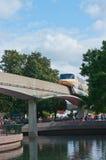 Monorail de Disney Photographie stock