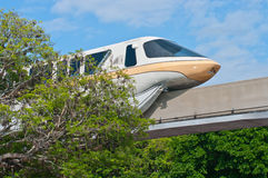 Monorail de Disney Images libres de droits