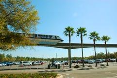 Monorail de Disney Images stock