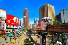 Monorail de kilolitre Image stock