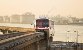 Monorail de Tokyo Photographie stock libre de droits