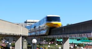 Monorail at Disneyworld Royalty Free Stock Photos