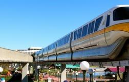 Monorail at Disneyworld Stock Photography