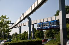 Monorail  in Dortmund Stock Photo