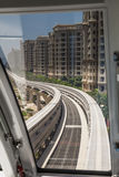 Monorail in Dubai Stock Image