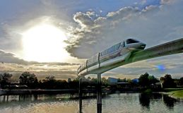 Monorail at Epcot Royalty Free Stock Image
