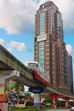 Monorail Kuala Lumpur Royalty Free Stock Images