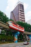 Monorail Kuala Lumpur Stock Photo