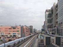 Monorail moderne images libres de droits