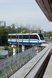 monorail moscow Fotografering för Bildbyråer