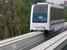 Monorail moscow Royalty Free Stock Photo