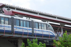 Monorail railway Royalty Free Stock Photo