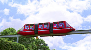 Monorail at shenzhen window of the world Royalty Free Stock Photo