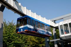 Monorail Strom Taxi In Dortmund Stock Images