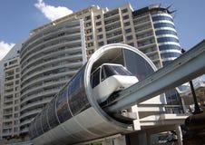 monorail sydney Royaltyfria Foton
