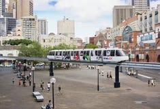 monorail sydney Royaltyfri Bild