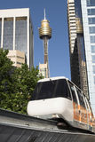 Monorail, Sydney Royalty Free Stock Image
