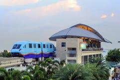 Monorail to Sentosa Royalty Free Stock Photo
