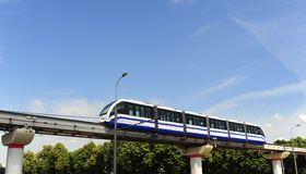 Monorail Train Royalty Free Stock Photos