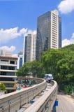 Monorail train royalty free stock photo