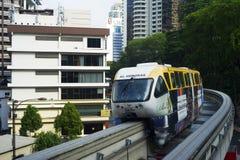 Monorail train Stock Image